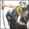 zhadrani: (zoro+sanji || yeah we're fucking badass)