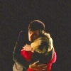 princesse_incongrue: David Tennant with his arms around Billie Piper, holding her protectively (hugging rose and ten)