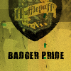 "dcgelfling: hufflepuff logo and ""Badger Pride"" (Default)"