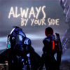 lunarwolfik: (ME3 - Shep/Garrus - by your side)