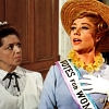 "princesse_incongrue: Mrs Banks from Mary Poppins proudly displaying her ""VOTES FOR WOMEN"" sash (sister suffragette)"