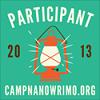 alexconall: Camp NaNoWriMo 2013 Participant (lantern icon) (Camp NaNoWriMo 2013)