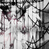 dchan: A winged girl in a cage. text: I seek happiness (i seek happiness)