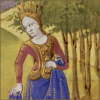 msmcknittington: A medieval lady (lady orchard)