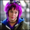 ambersweet: Ramona Flowers at Scott's door (Ramona - delivery (purple))