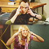 misbegotten: Sheldon and Penny try to make you explode (BBT Explode Your Brain)
