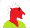 halialkers: Xeltrigan male, hooked nose, long jaw, mohawk, light green robes (Karzanur H'ven Marshada)