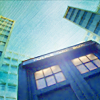 veleda_k: The TARDIS from Doctor Who (Doctor Who- TARDIS)