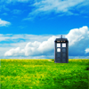 beatrice_otter: Tardis on a green field (Tardis)