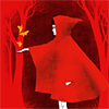 outlineofash: Artwork of Red Riding Hood (RRH - Red in the woods)