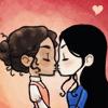 gwenny: Just a Gwen and Morgana pic (morgana/gwen, gwen/morgana)