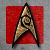 beatrice_otter: Star Trek symbol--red background (Red Shirt)