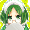 aquaticrush: Retasu wibbling behind a tray. ([r] why meee)