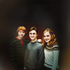 sideofzen: HP Trio. <3 by icons_yey @ lj (Harry Potter - Trio)