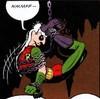 burntfeathers: (Robin: Bondage! Yay bondage!)