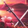 possiblyevil: swords from SAO (crossed blades)