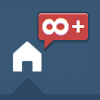 kickair8p: a tumblr dash icon showing infinity-plus new posts (tumblrInfPlusX100)