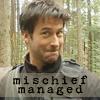 "em_kellesvig: John Sheppard looking mischievous with caption ""Mischief Managed"" (Default)"