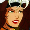 dreihuber: Rogue from the 90's X-Men cartoon, smiling (X-Men | Southern Belle)
