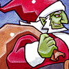 "great_king_of_evil: art by <user name=""tavington"" site=""deviantart.com""> ([082] (TWW) Ganon Claus)"
