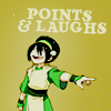 littlebutfierce: (atla toph point laugh)
