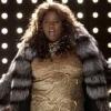 infiniteandsmall: Diva!Unique in her big  fur coat struttin' her stuff (unique adams)