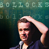 next_to_normal: James Marsters with his hand on his head; text: bollocks (Bollocks)
