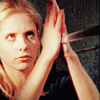 next_to_normal: Buffy catching the sword in her hands in Becoming II (Buffy sword)
