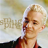 next_to_normal: Spike looking smug; text: smugpire (smugpire)