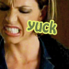 "next_to_normal: Cordy making a ""yuck"" face; text: yuck (Cordy yuck)"