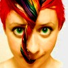 gonergone: (rainbow: woman with hair)
