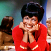 alchemy: Nichelle Nichols in Star Trek ([st] I'm tripping over you.)