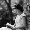 drkenison: (Reading Outside)