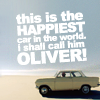 """ktc: """"This is the happiest car in the world!"""" (top gear uk - OLIVER!)"""