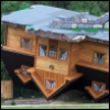 gehayi: (upside down house (gehayi))