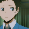 worldwithoutcolor: Izaya-san please stop creeping ($ He would call that untrustworthy)