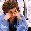 tellitslant: lizzie corday facepalming (er - lizzie - wtf is this shit?)