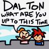 """tragedy_virus: marle and chrono """"Dalton, what are you up to this time?"""" (complaining about dalton)"""