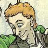 loki_of_sassgaard: Fanart of Tom Hiddleston smiling and looking vaguely downward (Loon)