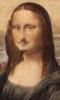 ext_2612: Duchamp's modified Mona Lisa, moustache, goatee, et al. (duchamp, mona lisa)