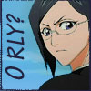 chomiji: Nanao Ise from Bleach, looking skeptical, with caption O RLY? (Nanao - O RLY?)