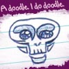beelikej: (Doodle purple)