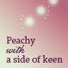 beelikej: (Peachy)