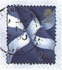 mayhap: stamp with Scottish flag (Scotland)