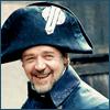 mayhap: Javert smiling (happy Javert!)
