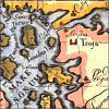 zdenka: An old map with the site of Troy. (Classical)