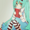 seraphictune: (Miku book)