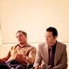 mitsuki: (Arthur/Eames sitting)