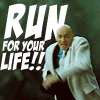 beatrice_otter: Lex Luthor runs for his life (Run for your Life!)