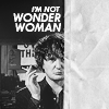 "jenwryn: Bernard Black, with the words ""I'm not wonder woman."" (black books • bernard; not wonder woman)"